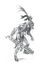 Mayan Thrall Sketch 1