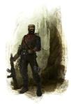 Poacher Paint Sketch 4