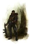 Poacher Paint Sketch 7