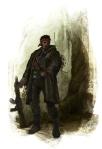 Poacher Paint Sketch 9